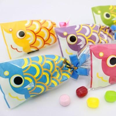 プチ京鯉のぼり【ブライダルVer.】150袋入り(5ケース)☆レビュー書き込みで次回あめプレゼント