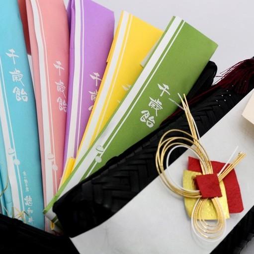 【七五三内祝い品・千歳飴】のりとばこ 5本入り(赤・白・紫・黄・緑)(レビュー書き込みで次回あめプレゼント)