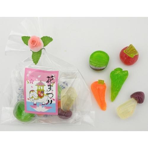プチお野菜(花まつりVer.)50個入り☆レビュー書き込みで次回あめプレゼント