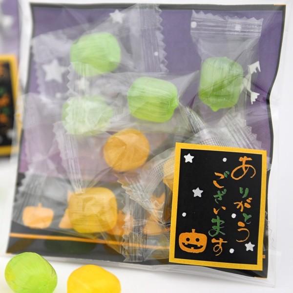 販売 ハロウィン お菓子 キャンディ お求めやすく価格改定 あめいろこづつみ ありがとうVer プチギフト