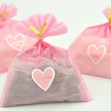 バレンタイン 義理チョコ キャンディ プチはぁーと プチギフト プレゼント 50個 まとめ買いで プラス 10個