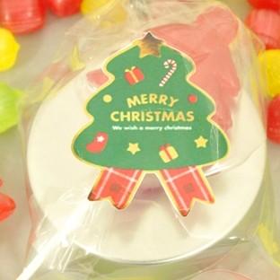 クリスマスプチギフト☆クリスマスキャンディ缶 3ケース(60個)☆レビュー書き込みで次回あめプレゼント
