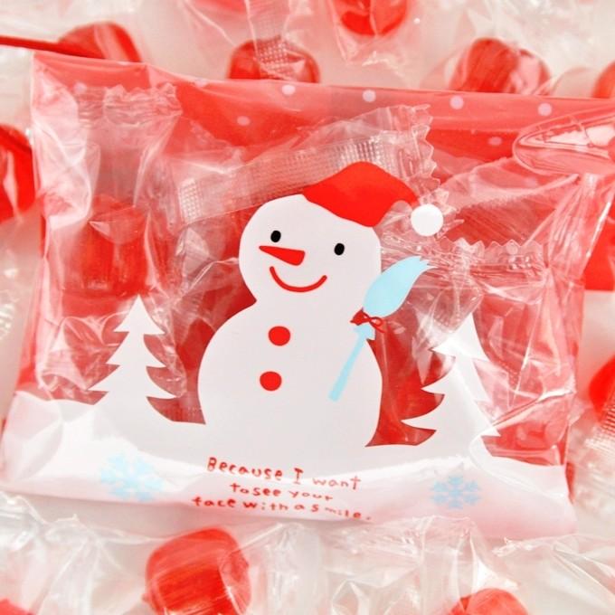 【クリスマス】オーナメントキャンディー 500袋入り☆レビュー書き込みで次回あめプレゼント