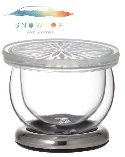 【メーカー公式】SNOWTOP(iwaki)ダブルウォールマグ<プラチナ>