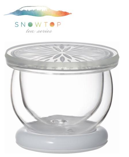 【メーカー公式】SNOWTOP(iwaki)ダブルウォールマグ<ホワイト>