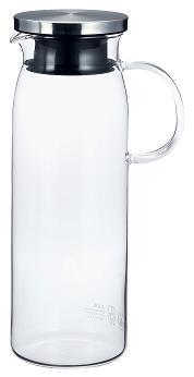 ステンレスシリーズ ガラスとステンレスのシャープなラインがテーブルをモダンに演出します ファッション通販 4%OFF メーカー公式 iwaki 麦茶入れ イワキ 当店は最高な サービスを提供します イワキガラス 冷水筒 ジャグ:1000耐熱ガラス