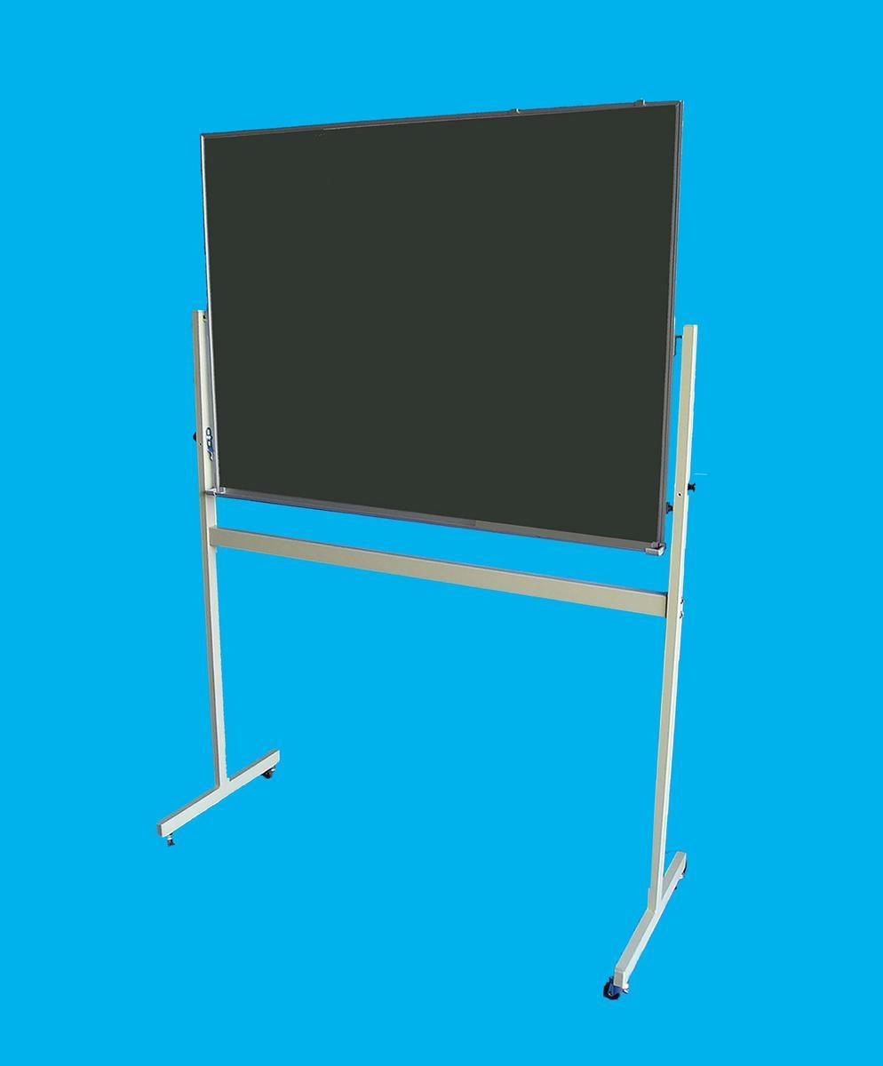 国産JFE黒板(グリーンボード)W1200×H900 移動式脚付(LS-34G)【送料無料】】一部離島・沖縄は別途送料かかります