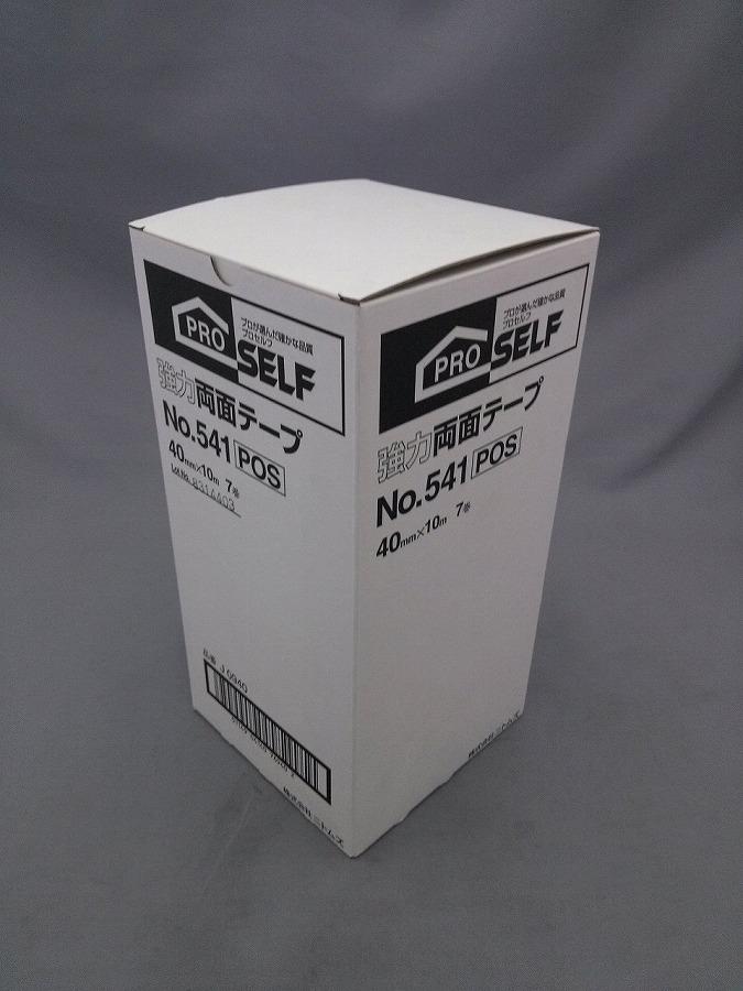 ニトムズ 強力両面テープ 40mmX10M 7巻入 NO541 J0940