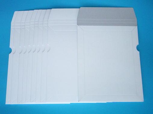 書籍DVD書類を送るのに最適冊子小包郵便対応 ゆうメール お試しセット 祝日 レビューを書けば送料当店負担 厚紙封筒 窓付 A5角5 10枚メール便対応