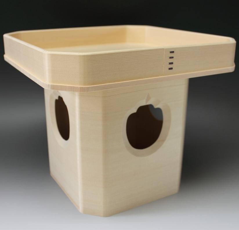 三宝(木曽ヒノキ)1尺(神饌を載せる台)【HLS_DU】854901