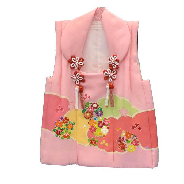 正絹被布コート【ピンク・女の子・3歳】