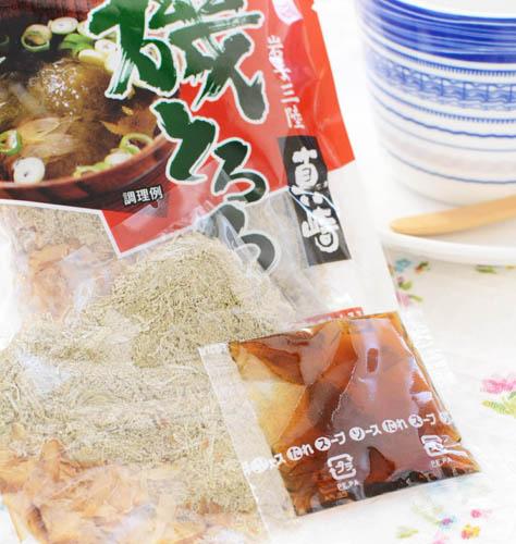 岩手県三陸産 海藻スープ磯とろろ(4食入り) 10袋 即席スープ とろろ昆布とかつお節のお汁 国産