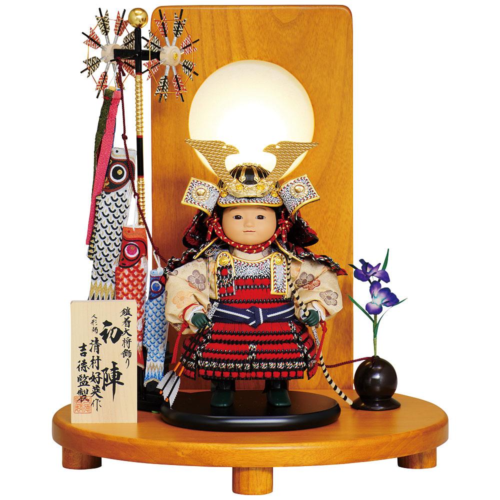 創業三百年の人形老舗 吉徳大光ブランドの五月人形 五月人形 吉徳 贈り物 清村好英作 鎧着大将飾り 入荷予定 鎧