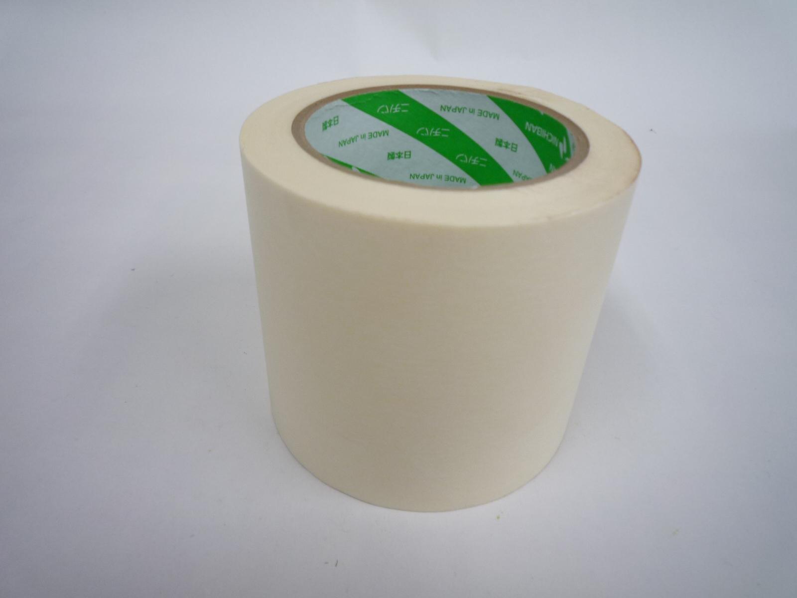 【 送料無料 】【 30巻 】 建築用 ホワイト マスキング テープ NO.251 100mm x 50m [ テープ 作業 建築 塗装 幅広 無地 白 ]