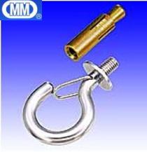 【 送料無料 】 MM 水本機械 ステンレス ボルトフック (カットアンカー付) 捻径M-8 EHB-8 【20個】