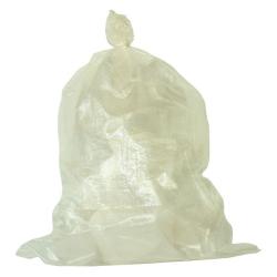【 送料無料 】【 400枚 】 透明 ガラ袋 ひも付 PP 60cm × 90cm [ 資材 廃材 回収 運搬 がら袋 端材 ごみ ゴミ 現場 ポリプロピレン ]