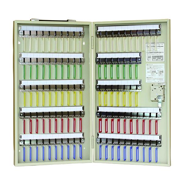 【 送料無料 】 タチバナ ダイヤル錠型 キーボックス 携帯・壁掛兼用 94本掛 R-94