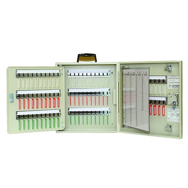 【 送料無料 】 タチバナ ダイヤル錠型 キーボックス 携帯・壁掛兼用 110本掛 R-110