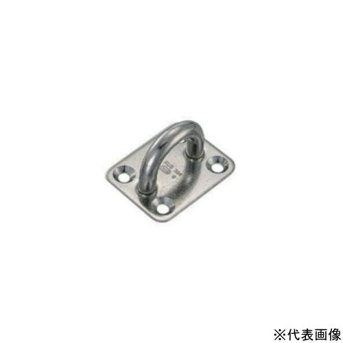 【 送料無料 】 MM 水本機械 ステンレス アイプレート 16mm IP-16 【5個】
