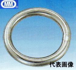 【 送料無料 】 MM 水本機械 ステンレス 丸リンク 28×250mm R-28-250 【5個】