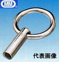 【 送料無料 】 MM 水本機械 ステンレス リングナット (ブネジ) W-1/2 LN-12W 【10個】