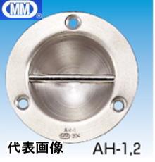 【 送料無料 】 MM 水本機械 ステンレス 埋込みフック AH-1 【10個】