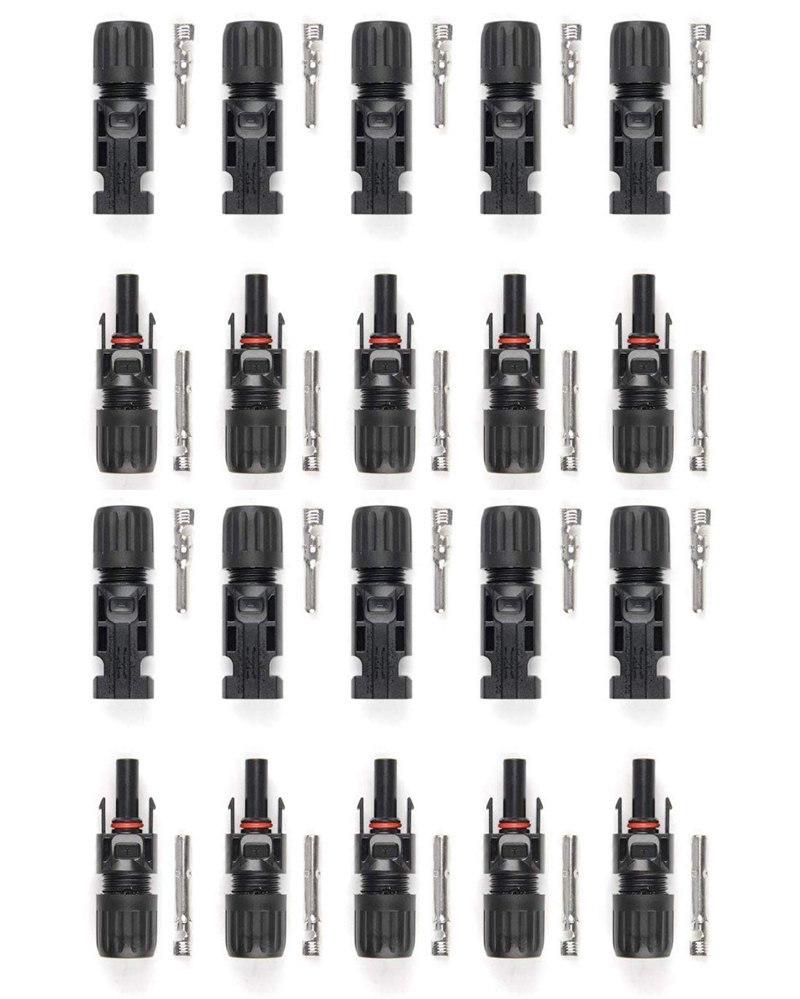 国際規格の認証取得品 防水 耐塵IP67規格品 耐UV性 耐寒性 耐熱性 電気伝導性に優れ 使い勝手 高品質 新登場 人気DIY工具シリーズ アイウィス 純銅製 2.5 高強度樹脂 10組セット IWISS 4.0 IP67耐塵防水タイプ MC4コネクタ 国際認証品 6.0sqケーブル対応 2020モデル