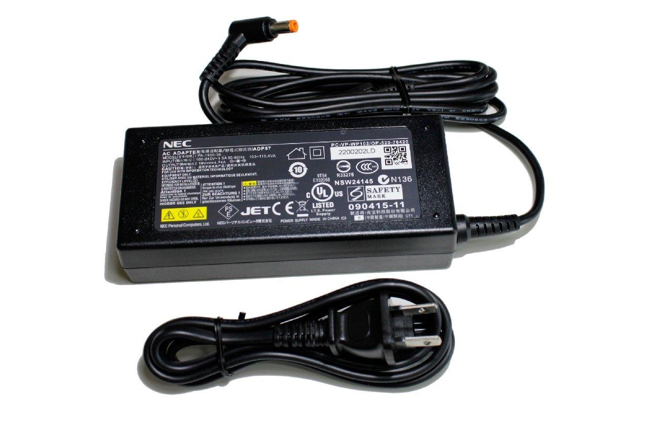 送料無料 NEC 卸直営 純正 ACアダプタ 中古 PC-VP-WP102 ADP87 Lavie 激安 激安特価 送料無料 19V4.74A 保証 ノートパソコン セール 安心