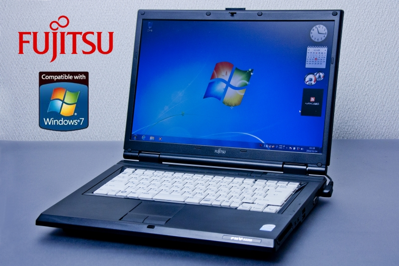 king office 2013附属于只1台笔记本电脑Office在的富士通FMV LIFEBOOK FMV-A8260 Windows7 2GB HDD80GB二手货笔记本电脑king Office 2013附属的二手的笔记本电脑