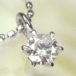 【送料無料】【ダイヤモンドペンダント】K18WG・ダイヤモンド0.15ct スタッドペンダント(ネックレス)【smtb-m】