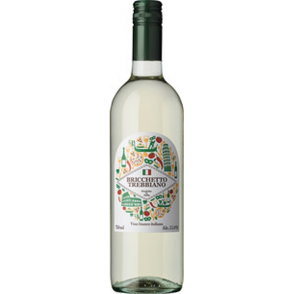 希少 I.G.T.ルビコーネブリケット トレッビアーノ 750ml ×1本 イタリア エミリア ワイン 人気ブレゼント! 取り寄せ品 アサヒビ-ル メーカー在庫次第となります ロマーニャ