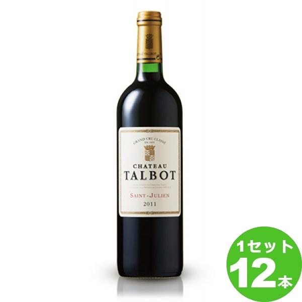 1本=7,989円(税別) サッポロ シャトー・タルボー シャトー・タルボーCh.Talbot定番 赤ワイン フランス ボルドー750 ml×12本(個) ワイン ワイン【送料無料※一部地域は除く】