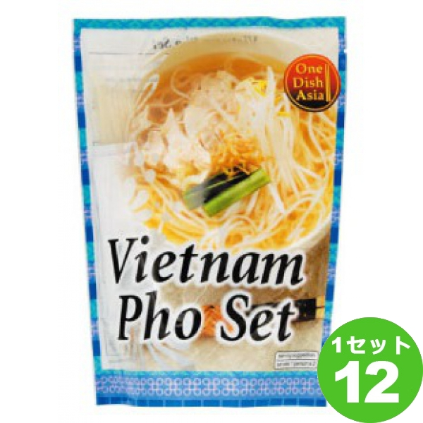 贈答品 アライドコーポレーション One Dish Asia 感謝価格 食品 ベトナムフォーセット 送料無料※一部地域は除く 170g×12袋