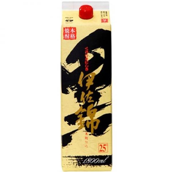 【最大1500円クーポン】大口酒造(鹿児島) 芋焼酎黒伊佐錦25゜パック  1800ml×1本 焼酎【取り寄せ品 メーカー在庫次第となります】