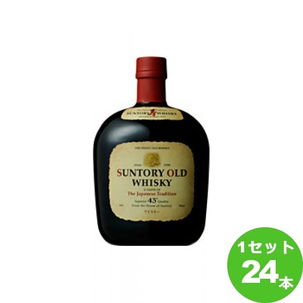 [200円クーポン&ママ割最大5倍]サントリー ウイスキーオールド  700ml ×24本(個)