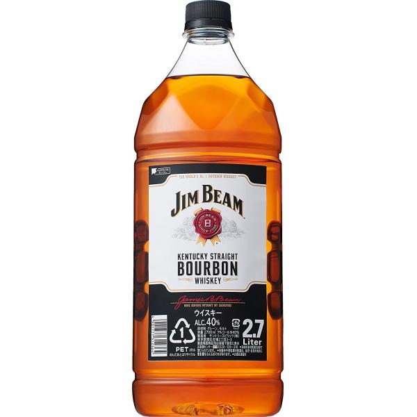 【最大1500円クーポン】サントリー ジムビームペット  アメリカ2700 ml×1本 ウイスキー【送料無料※一部地域は除く】【取り寄せ品 メーカー在庫次第となります】