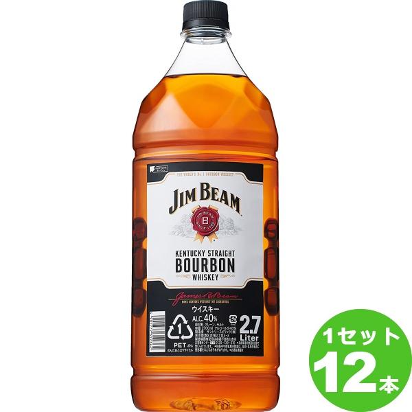 サントリー ジムビームペット アメリカ2700 ml×12本(個) ウイスキー【送料無料※一部地域は除く】