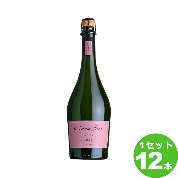 [200円クーポン&ママ割最大5倍]スマイル コノスル スパークリングワイン ロゼ Cono Sur Sparkling Wine Rose スパークリング ロゼワイン チリ/ビオビオヴァレー750ml×12本(個) ワイン