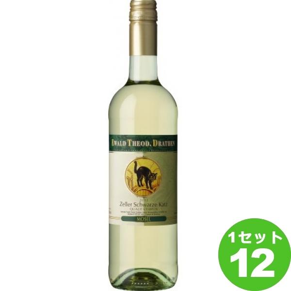 1本=1 030円 税込 ツェラー シュヴァルツェ カッツ ZELLER SCHWARZE KATZ おすすめ特集 定価の67%OFF 猫 メーカー在庫次第となります 送料無料※一部地域は除く ml×12本 ラベル ドイツ ワイン 取り寄せ品 白ワイン モーゼル750