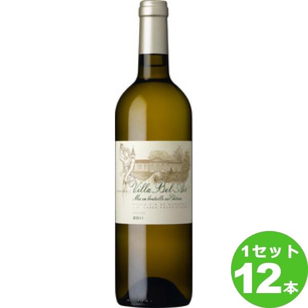 アサヒ シャトー・ヴィラ・ベレール・ブランCHATEAU VILLA BEL AIR BLANC定番 白ワイン フランス ボルドー グラーヴ750ml×12本 ワイン【送料無料※一部地域は除く】【取り寄せ品 メーカー在庫次第となります】