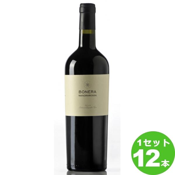 【終売】セッテソリ・マンドラロッサ・ボネラMandraRossa Bonera 750ml ×12本 イタリア / ITALIAシチリア / SICILIA 日欧商事 ワイン【送料無料※一部地域は除く】【取り寄せ品 メーカー在庫次第となります】