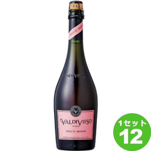 ValdiviesoBrutRoseバルディビエソブリュットロゼ 750ml ×12本 チリ/セントラル ヴァレー ワイン【送料無料※一部地域は除く】