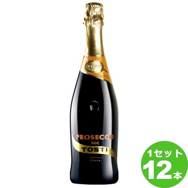 【終売】トスティ・トスティ・プロセッコTosti Prosecco 750ml ×12本 イタリア / ITALIAピエモンテ / PIEMONTE 日欧商事 ワイン【送料無料※一部地域は除く】【取り寄せ品 メーカー在庫次第となります】