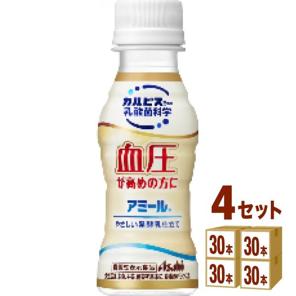 【200円クーポン・ママ割】アミールやさしい発酵乳仕立てペット100ml×120本 飲料