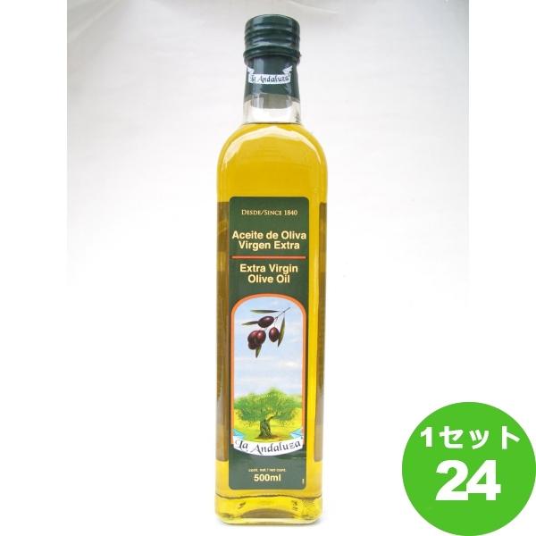日本珈琲貿易 アンダルーサ EXバージンオイル 500ml×24本 調味料【送料無料※一部地域は除く】