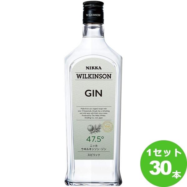 ニッカウイスキー ウィルキンソンジン47.5゜ 720ml×30本(個) ジン