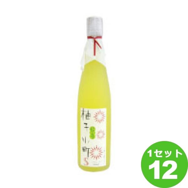 壱岐の蔵酒造 柚子小町Sにごり 500ml ×12本 リキュール【送料無料※一部地域は除く】
