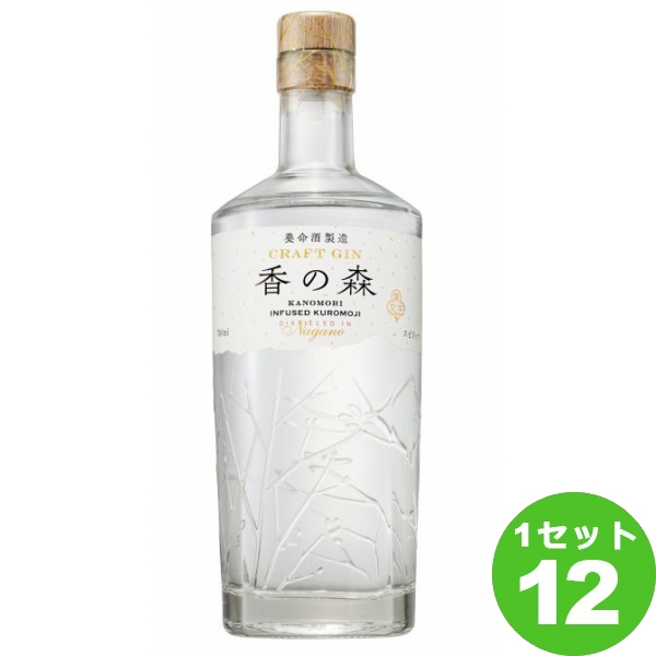 養命酒製造 クラフトジン 香の森 700 ×12本 ジン
