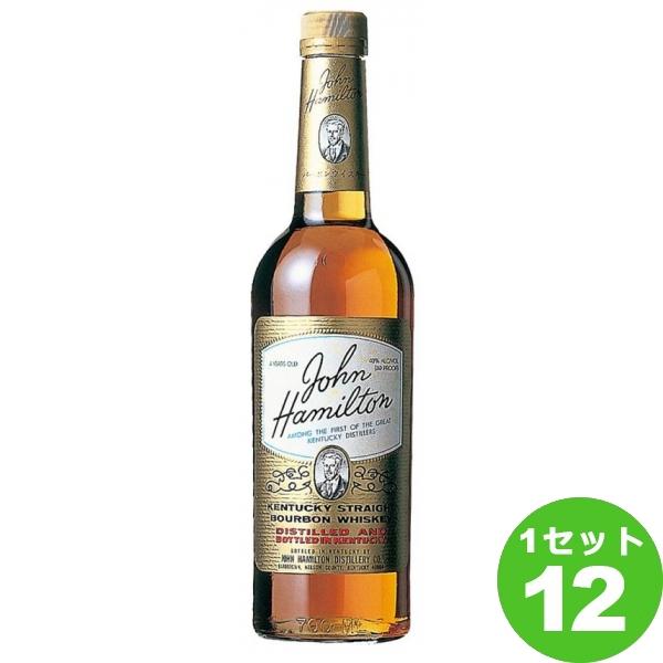 サッポロ ジョン・ハミルトン 700 ml×12本 ウイスキー【送料無料※一部地域は除く】