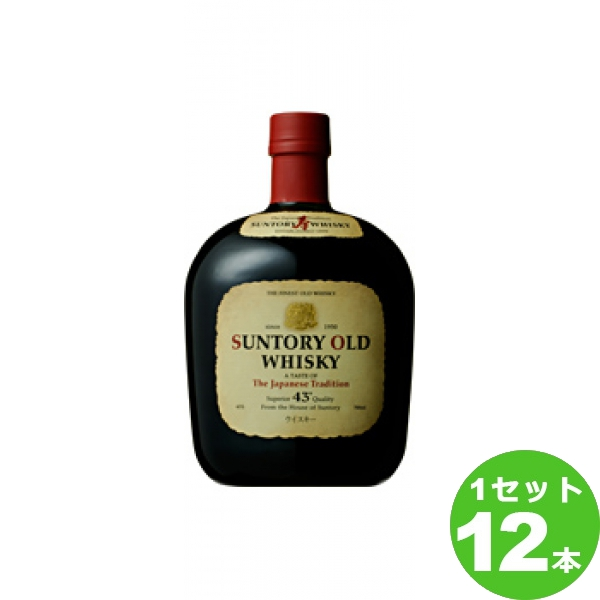 サントリー ウイスキーオールド 700 ml×12本(個) ウイスキー【送料無料※一部地域は除く】